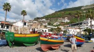 Bateaux de pêche à Madère