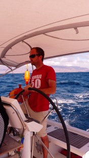 Skipper Sailors' Network devant Tenerife